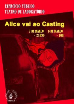 Alice vai ao Casting
